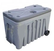 Caisse alimentaire mobile - Fabriquée en polyéthylène