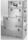 Caisse aluminium de stockage - Capacité (L) : 42  - 59 - 81 - 135