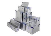 Caisse aluminium Eurobox - Volume (L) : de 27 à 414