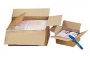 Caisse américaine carton à hauteur variable - Dimension (Lxlxh) cm : de 21,5 x 15,5 x 14 à 43 x 30,5 x 25