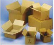 Caisse américaine normalisée - Type de cannelure : Simple - Double - Triple