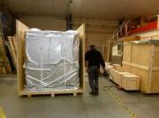 Caisse bois emballage maritime - Emballage anti-corrosion VCI - certifié 4c et SEI