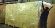 Caisse bois industrielle - Traitée selon la norme NIMP 15 - Marquage au pochoir