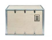 Caisse bois pliante de transport - Dimensions extérieur (mm) : de 390 x 390 x 315 à 1200 x 800 x 800