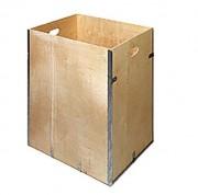 Caisse bois pliante réutilisable - Epaisseur (mm) : 4 - 5 ou 6