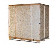 Caisse bois réutilisable de stockage - Pour les produits lourds ou volumineux  -  Conforme à la norme NIMP15