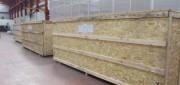 Caisse bois transport aérien - Traitement du bois norme NIMP15