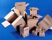 Caisse carton americaine - Rabats rentrants
