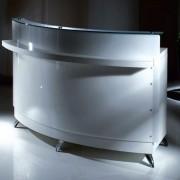 Caisse comptoir accueil salon de coiffure - Hauteur totale : 120 cm