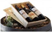 Caisse d'emballage bois pour vin - 100 % recyclable