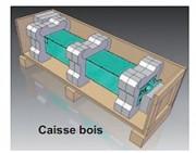 Caisse d'emballage bois sur mesure - Calage optimal