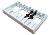 Caisse de conditionnement rotomoulée - Dimensions : 1071 x 699 mm