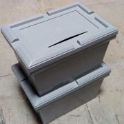 Caisse de distribution en plastique - Capacité  : 25 L