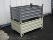 Caisse de manutention métallique VP - Volumes : 200, 400 litres et sur-mesure
