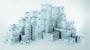 Caisse de stockage aluminium 1000 x 500 - Capacité : De 27 à 162 Litres