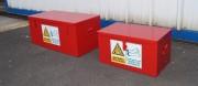 Caisse de stockage pour fusées de détresse - Stockage des fusées de détresse
