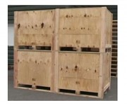 Caisse en bois NIMP15 - Protection intelligente et optimale