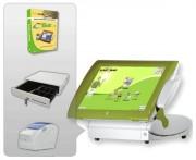 Caisse enregistreuse café - Pack avec : Logiciel - Terminal PV - Imprimante ticket de caisse - Tiroir caisse