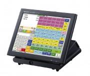 Caisse enregistreuse écran tactile SHARP - Dimensions (HxLxP) mm : 295 x 307 x 313