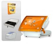 Caisse enregistreuse resto - Pack avec : Logiciel - Terminal PV - Imprimante ticket de caisse - Tiroir caisse