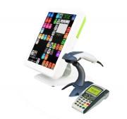 Caisse enregistreuse tactile 15 pouces TFT LCD - Système d'exploitation : Windows 7 pro