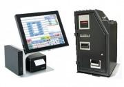 Caisse enregistreuse tactile automatique tous commerces - Caisse tactile et monnayeur automatique