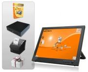 Caisse enregistreuse tactile avec imprimante ticket de caisse - Pack avec : Logiciel - Ecran tactile - Imprimante ticket de caisse - Tiroir caisse