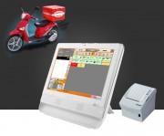 Caisse enregistreuse tactile pizzeria - Windows 7, clavier USB et souris optique USB