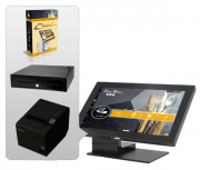 Caisse enregistreuse tactile pour restaurant - Avec logiciel de gestion pour restaurant