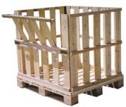 Caisse et caisse-palettes bois - Adéquation contenant contenu