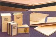Caisse export en bois avec cornières métalliques - Box multiplex; type S, 39287