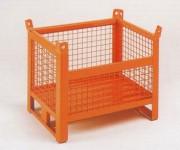 Caisse grillagé à demi-ouverture - Charge (kg) : 700