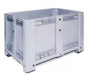 Caisse industrielle à 3 semelles - Dimensions extérieures : 1200x800x760 mm - Dimensions intérieures : 1170x710x600 mm