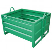 Caisse métallique MANU BOX - Charge en (kg) : de 1000 à 2000