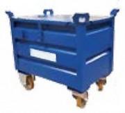 Caisse métallique de manutention - Volume : 200 à 720 litres - Fabrication française
