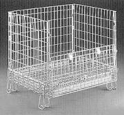 Caisse métallique grillagée - Dimension en cm : 85x110x100 ou 80x65x85