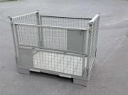 Caisse métallique pliable - En acier - Charge : 900 kg
