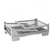 Caisse métallique repliable europool - En acier - Charge maxi : 1000 kg