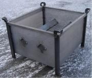 Caisse métallique spéciale trempage MGSP - Dimension sur-mesure
