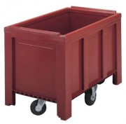 Caisse palette 200 Kg - Capacité : 250 L - Dim : L.100 x lg 600 x H.690 mm - Résistance de la charge : 200 kg