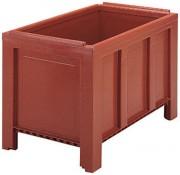 Caisse palette 250 kg - Dim : L.1000 x lg.600 x H.662 mm - Capacité : 250 L - Résistance de la charge : 250 kg