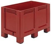 Caisse palette à 2 semelles - Dime : L.1000 x lg.600 x H.662 mm - Capacité : 260 L - Résistance de la charge : 200 kg