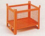 Caisse palette à 4 côtés grillagés - Charge en (kg) : 700