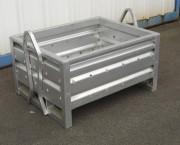 Caisse palette acier - Pour stockage - Gerbage 5/1