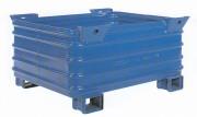 Caisse palette acier monobloc - Charge utile : 2 tonnes