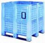 Caisse palette agricole 1400 litres - 1300 x 1150 x 1250 mm