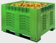Caisse palette agricole 700 litres - 1200 x 1000 x 785 mm