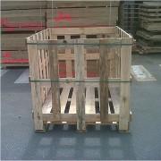Caisse palette bois à fond - Toutes ces caisses avec un fond