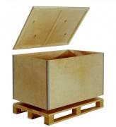 Caisse Palette Bois Personnalisable - Poids de 19.2 à 40.4 Kg