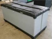 Caisse palette de stockage - Matière : Regular (pool palette/rotation) -  3 éléments ( Palette , rehausse, couvercle)